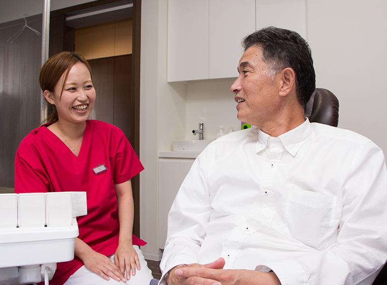 虫歯予防や口腔健康の維持が目的の予防歯科