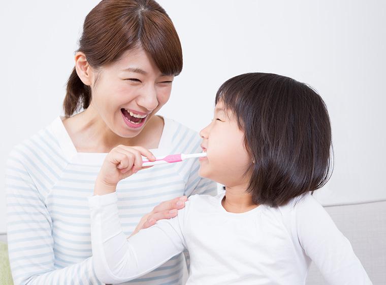フッ素塗布と同時に子供の歯を守るTBI・歯磨き相談