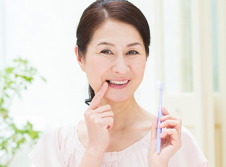お口の健康を保つ